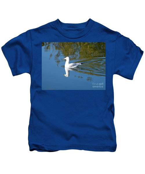 Ring-billed Gull Kids T-Shirt