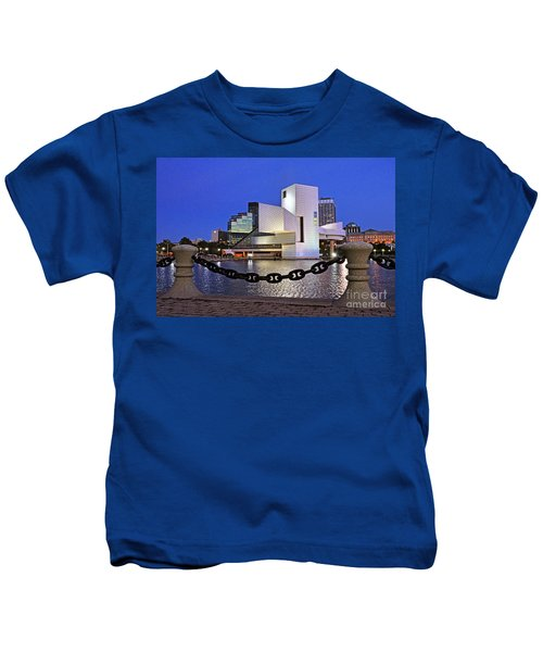 Rock And Roll Hall Of Fame - Cleveland Ohio - 1 Kids T-Shirt