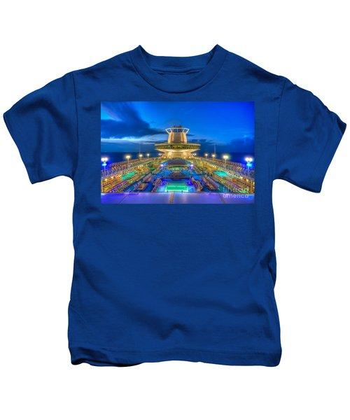 Royal Carribean Cruise Ship  Kids T-Shirt