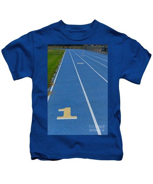 Running Track Kids T-Shirt