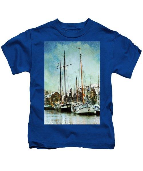 Sailboats Kids T-Shirt