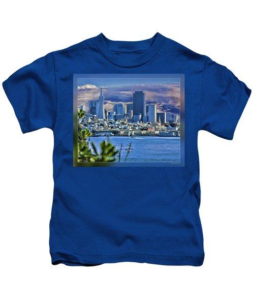 San Francisco From Alcatraz Kids T-Shirt