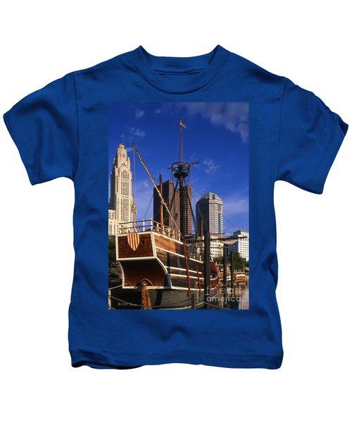 Santa Maria Replica Photo Kids T-Shirt
