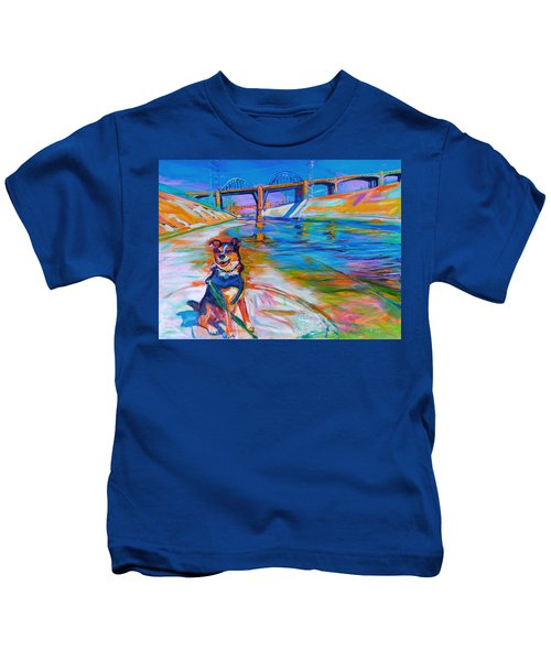 Scout The River Guard Kids T-Shirt