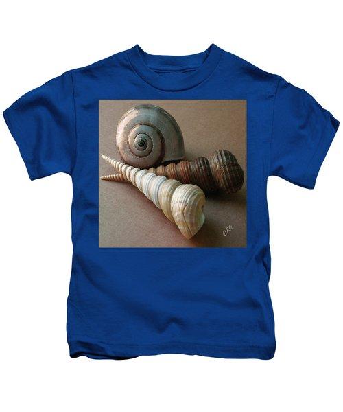Seashells Spectacular No 29  Kids T-Shirt