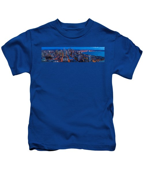 Seattle Skyline From The Space Needle Kids T-Shirt