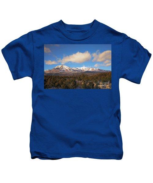 Snow On The Peaks Kids T-Shirt