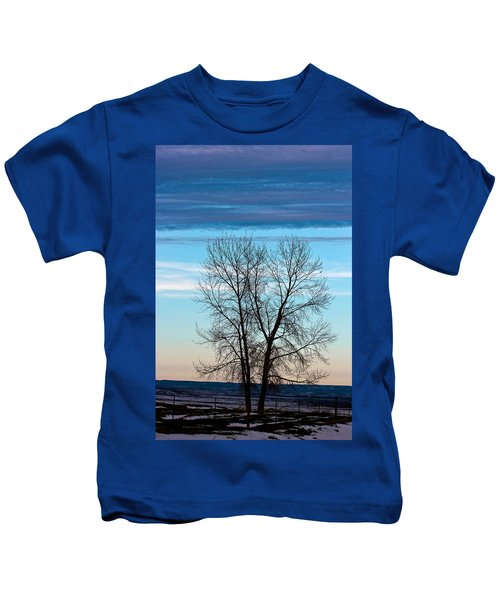 Soldier Creek Sunset Kids T-Shirt