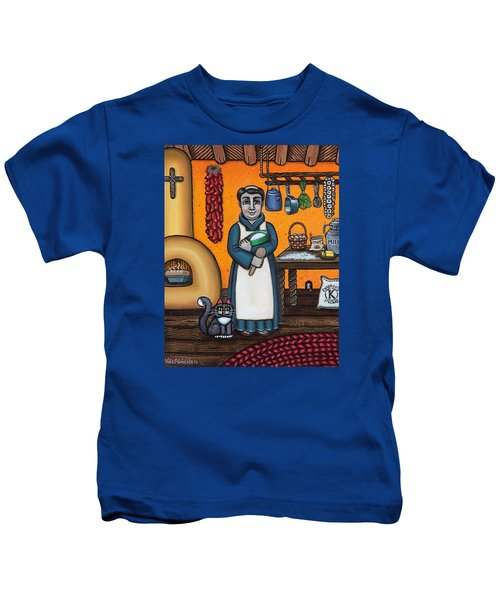 St. Pascual Making Bread Kids T-Shirt