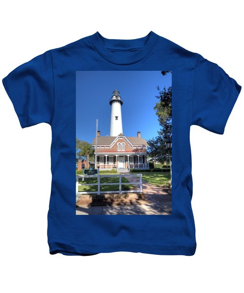 St. Simons Island Light Station Kids T-Shirt