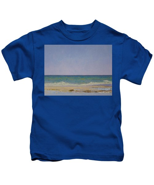 Summer Storm Tidepools Kids T-Shirt
