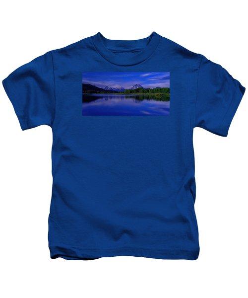 Super Moon Kids T-Shirt by Chad Dutson