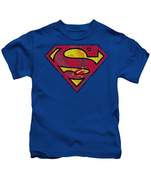 Superman - Action Shield Kids T-Shirt