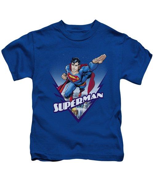 Superman - Looks Like A Job For Kids T-Shirt