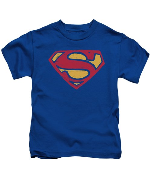 Superman - Super Rough Kids T-Shirt