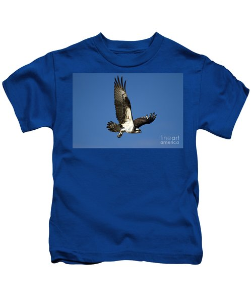 Take Flight Kids T-Shirt by Mike  Dawson