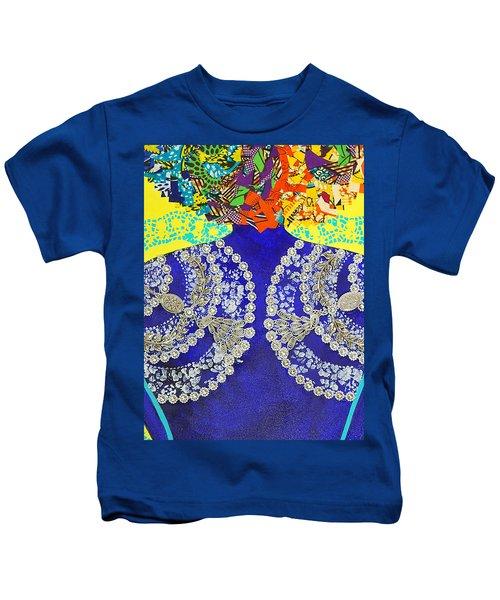 Temple Of The Goddess Eye Vol 3 Kids T-Shirt