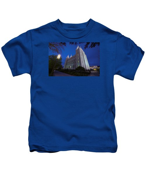 Temple Perspective Kids T-Shirt