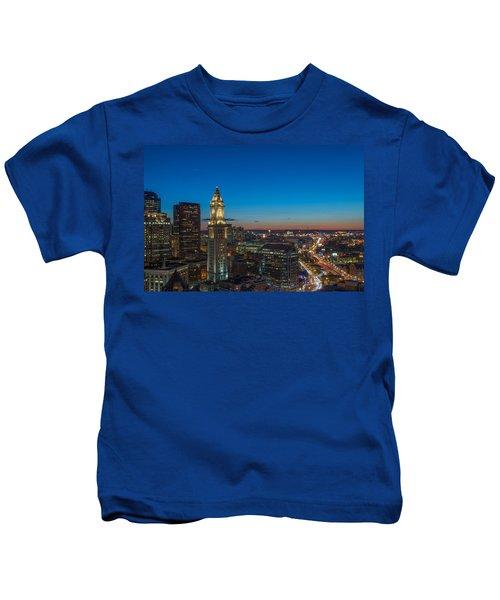 The Blue Begins Kids T-Shirt
