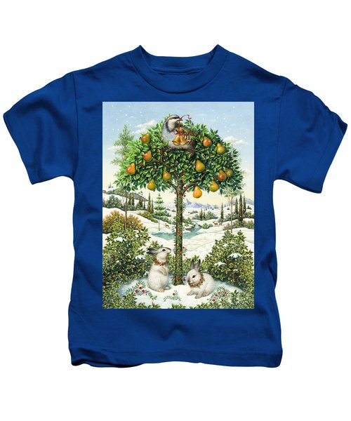 The Partridge In A Pear Tree Kids T-Shirt