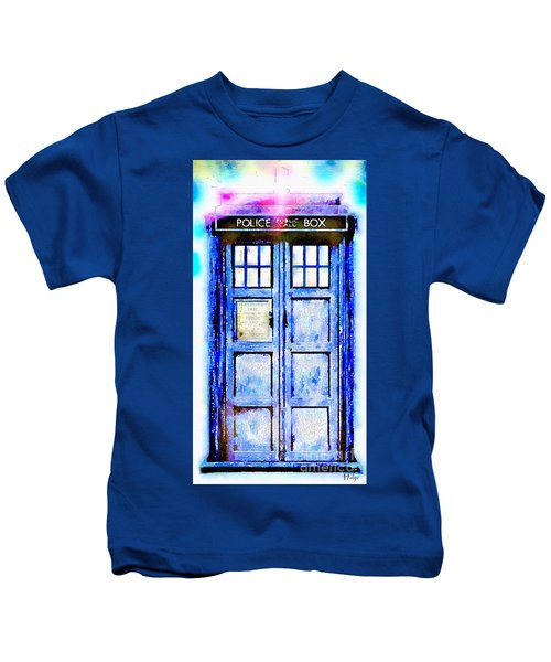 The Tardis Kids T-Shirt