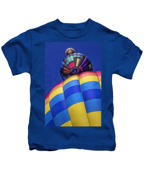 Three Hot Air Balloons Kids T-Shirt