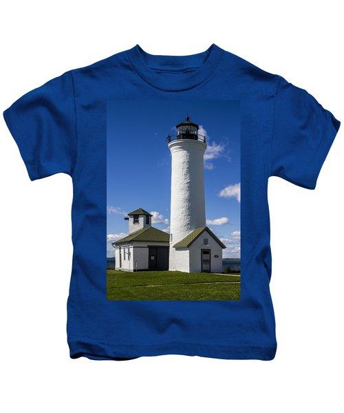 Tibbetts Point Lighthouse Kids T-Shirt