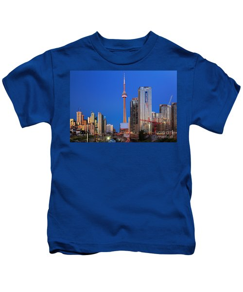 Toronto Skyline Kids T-Shirt