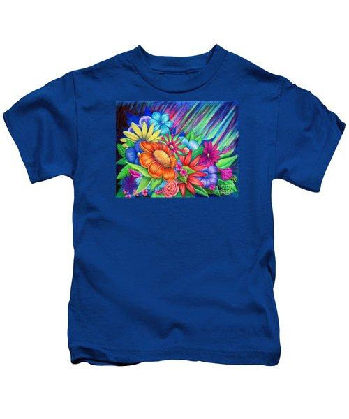 Toward The Light Kids T-Shirt