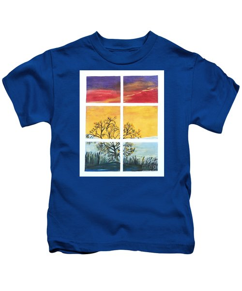 Tranquil View Kids T-Shirt
