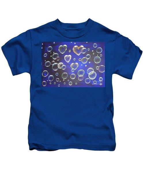Valentine Bubbles Kids T-Shirt