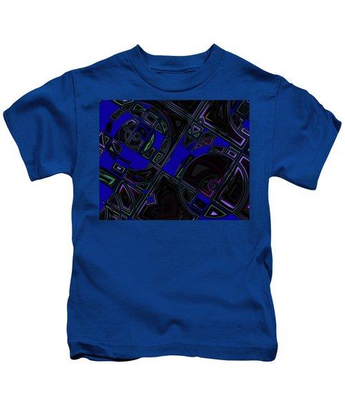Vinyl Blues Kids T-Shirt