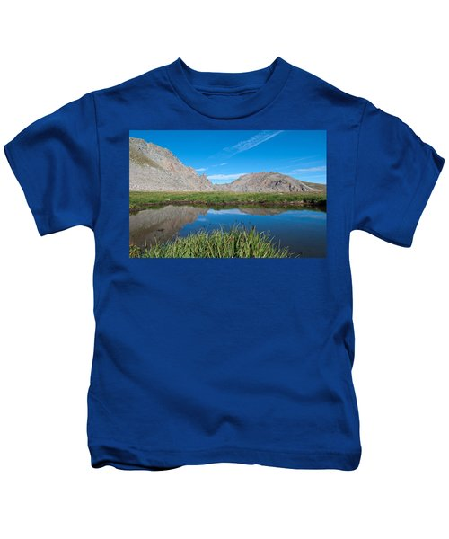 Harvard Peak Alpine Reflection Kids T-Shirt