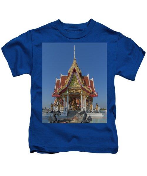 Wat Bukkhalo Central Roof-top Pavilion Dthb1809 Kids T-Shirt