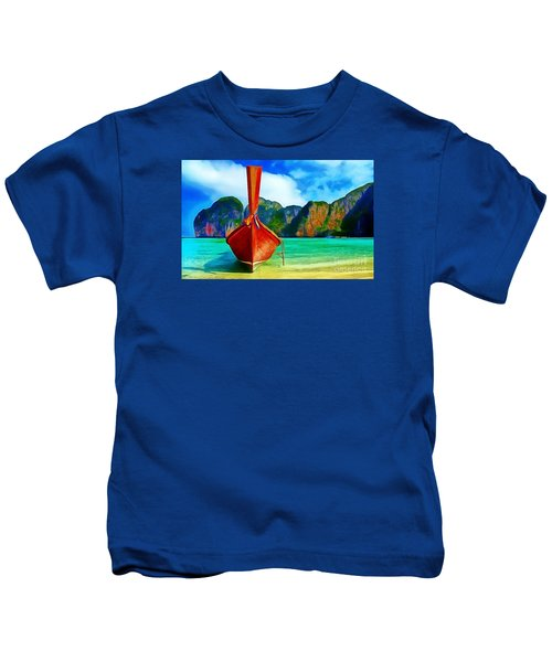 Watermarked-a Dreamy Version Collection Kids T-Shirt
