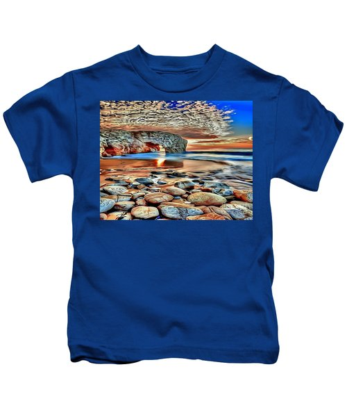 Weighed In Stone Kids T-Shirt