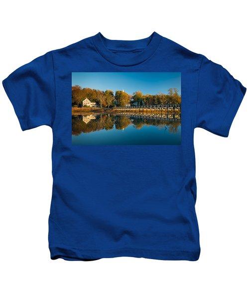 Wellfleet Reflection Kids T-Shirt