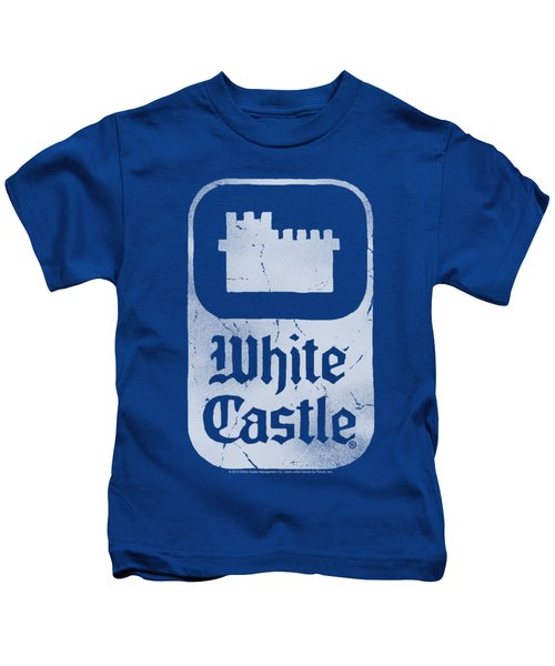 White Castle - Classic Logo Kids T-Shirt by Brand A