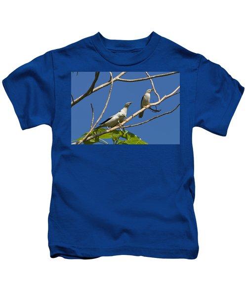 White-headed Starlings Havelock Isl Kids T-Shirt by Konrad Wothe