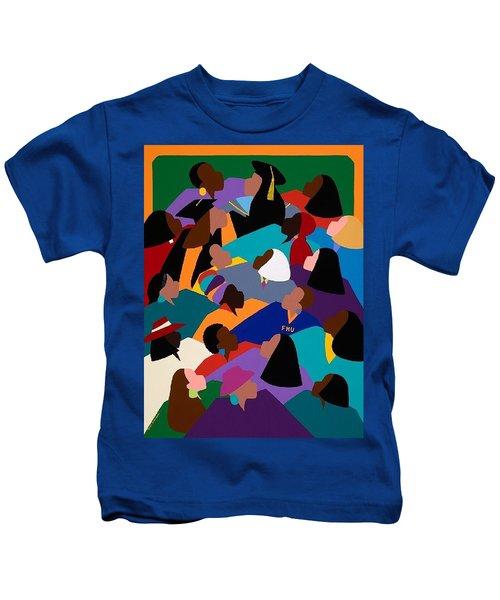 Women Lifting Their Voices Kids T-Shirt