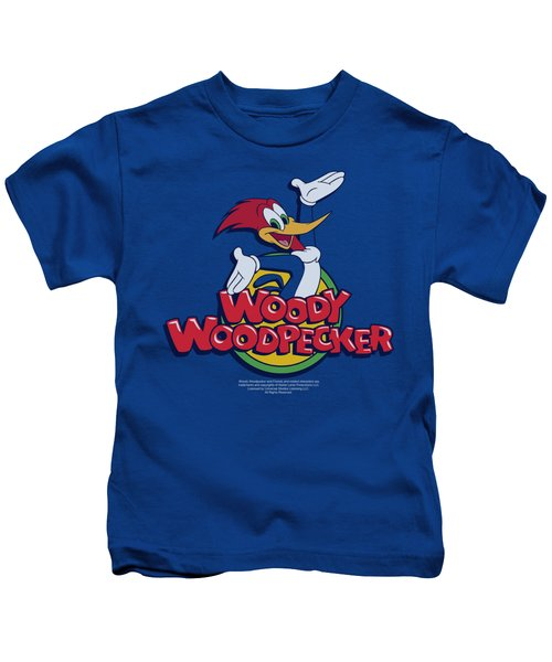 Woody Woodpecker - Woody Kids T-Shirt by Brand A