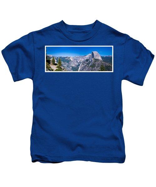 Yosemite Valley From Glacier Point Kids T-Shirt