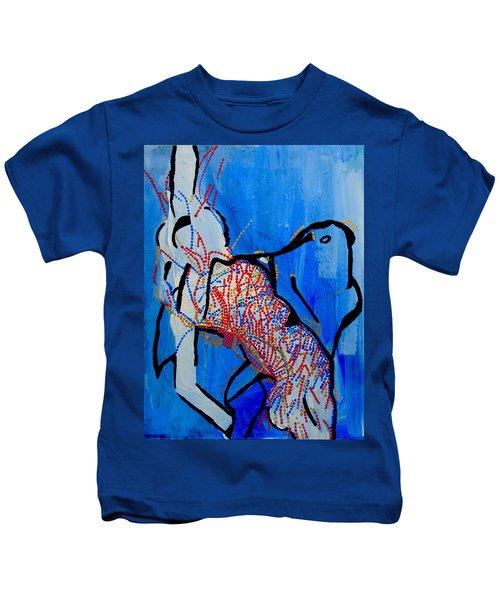 Dinka Corset - Manlual - South Sudan Kids T-Shirt