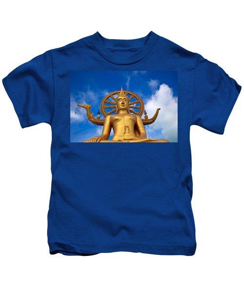 Golden Buddha Kids T-Shirt