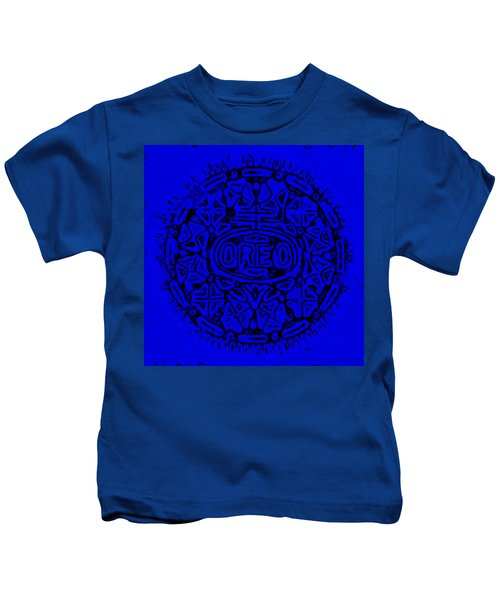 Blue Oreo Kids T-Shirt