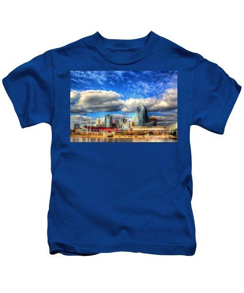 Cincinnati Skyline 2012 - 2 Kids T-Shirt