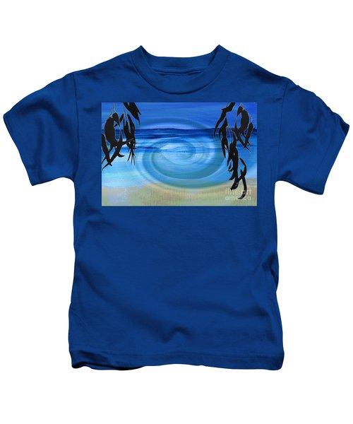 Eucalyptus Ocean View Kids T-Shirt