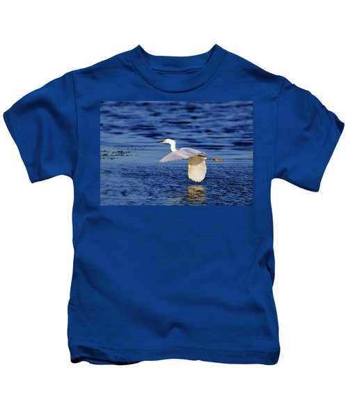 Evening Flight Kids T-Shirt