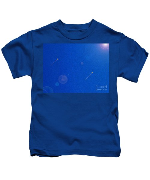 Flying Kites  Kids T-Shirt