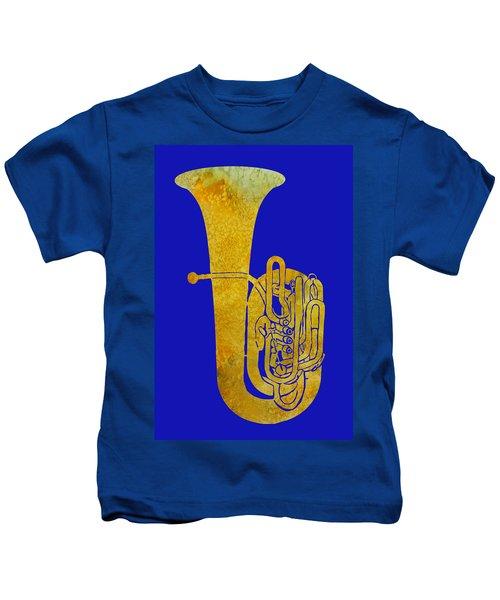 Golden Tuba Kids T-Shirt